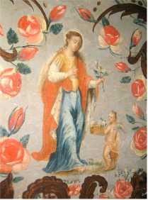 św. Dorota - dawna patronka  bractwa