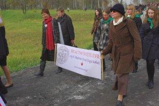 Przemarsz wspólnot naszej archidiecezji z Łagiewnik do Centrum JPII