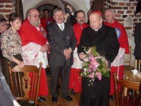 Opłatek w kurii z Kardynałem