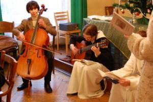 Opłatek z katechumenami '08