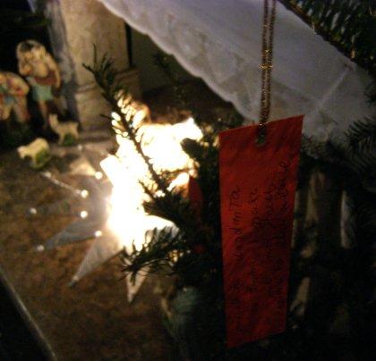 Szopka w kościele św. Marka w Krakowie - Boże Narodzenie 2014