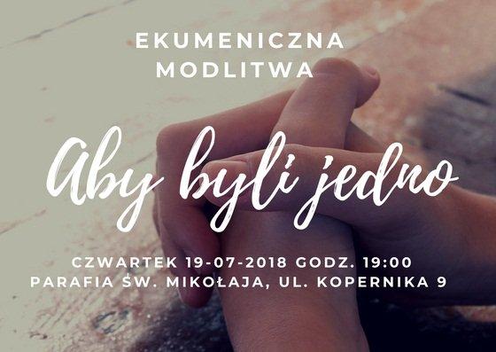 modlitwa ekumeniczna